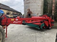 2012 kverneland 4332 mower + swarther